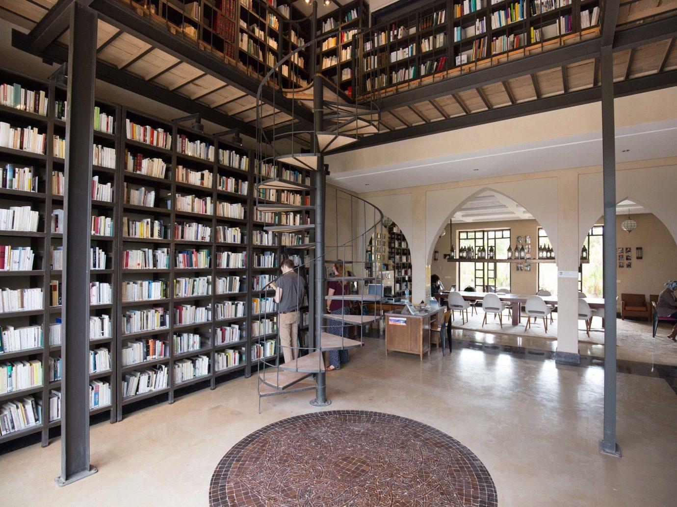 Hotels Solo Travel floor indoor library building public library interior design room tourist attraction retail