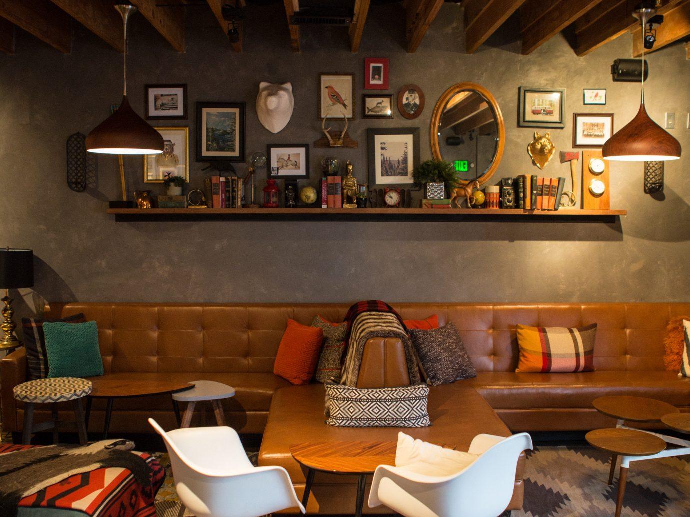 Food + Drink Travel Tips floor indoor ceiling table interior design furniture room wood home café living room restaurant chair house Bar beam loft