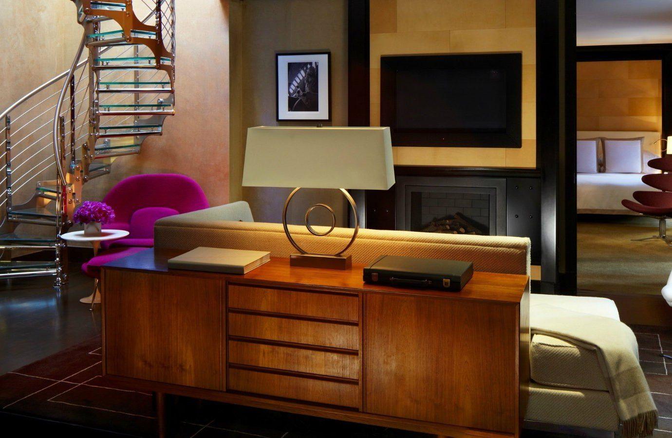 Hotels indoor floor room home living room furniture interior design dining room cabinetry Design wood Suite table