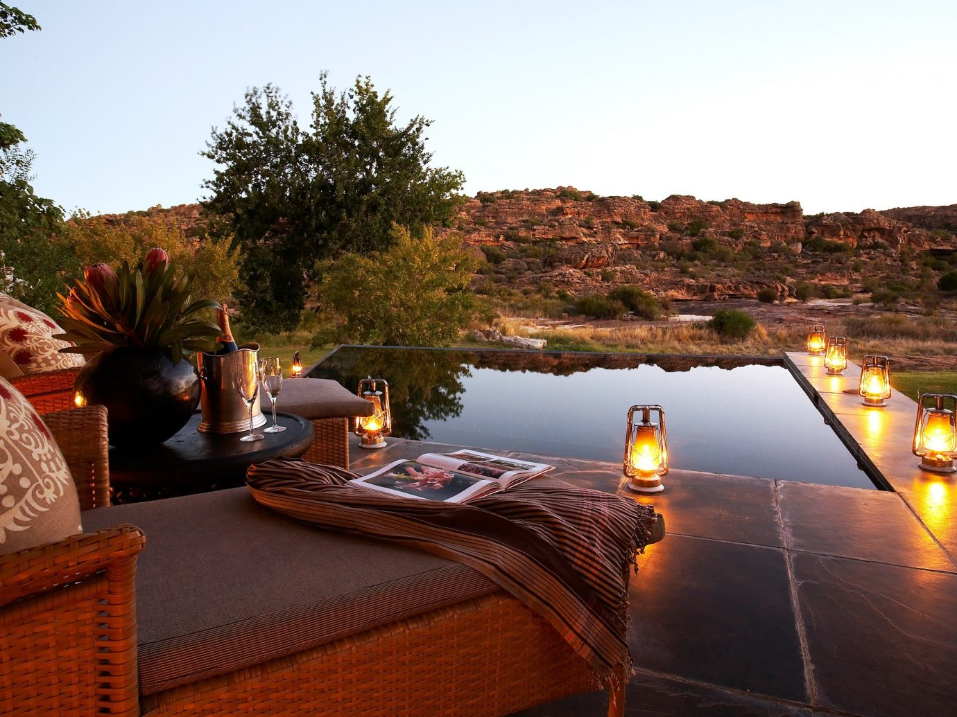 Hotels Outdoors + Adventure sky outdoor property swimming pool estate vacation Resort home Villa backyard