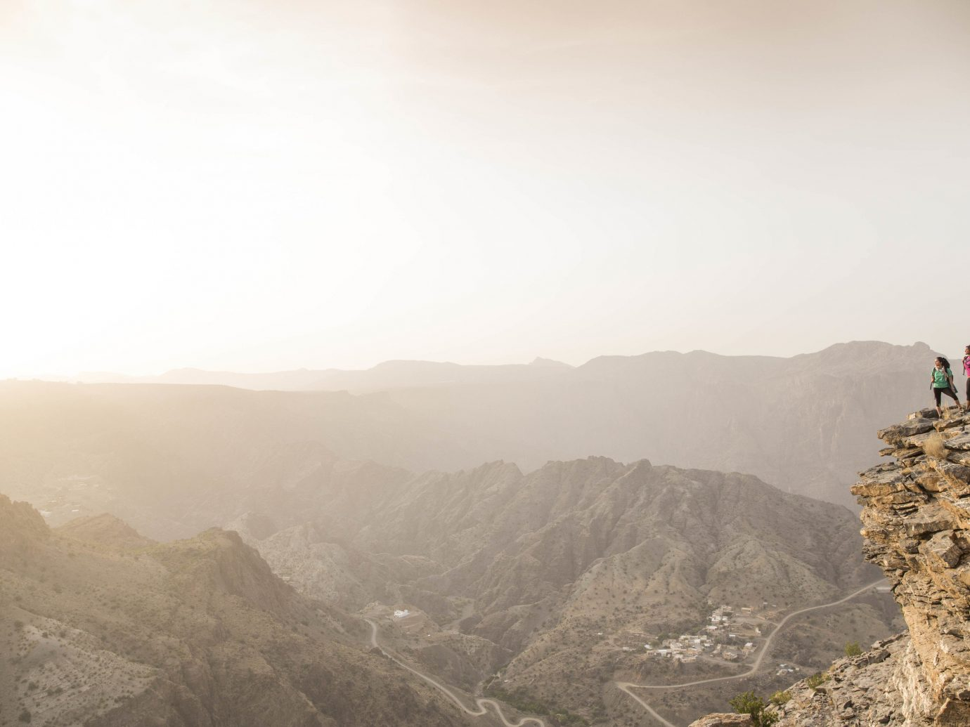 Hotels outdoor mountain sky Nature mountainous landforms landform atmospheric phenomenon geographical feature valley hill morning wadi cliff Adventure terrain mountain range summit distance