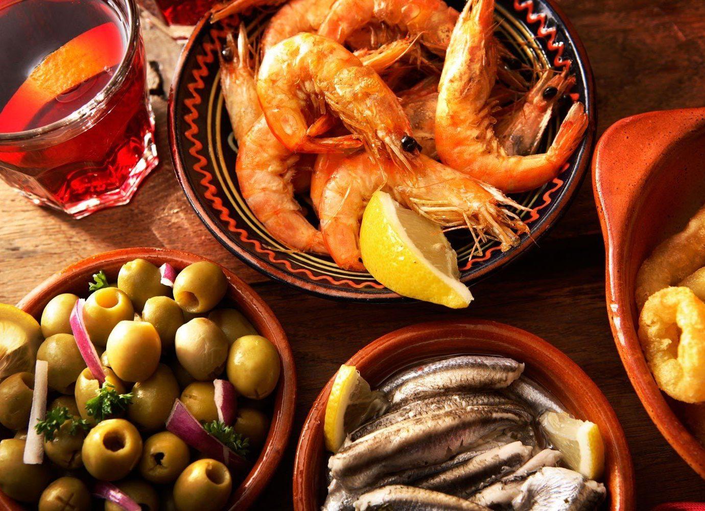 Trip Ideas food table plate dish produce cuisine Seafood seafood boil meal asian food vegetable