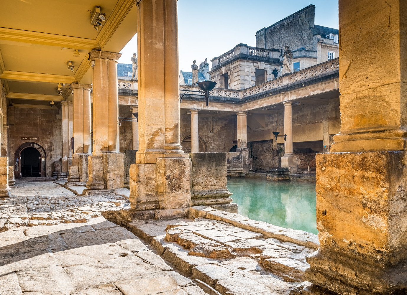 Health + Wellness Luxury Travel Trip Ideas building outdoor ground ancient history historic site archaeological site Ruins stone tourist attraction temple ancient rome way history column window facade old concrete arch cement colonnade