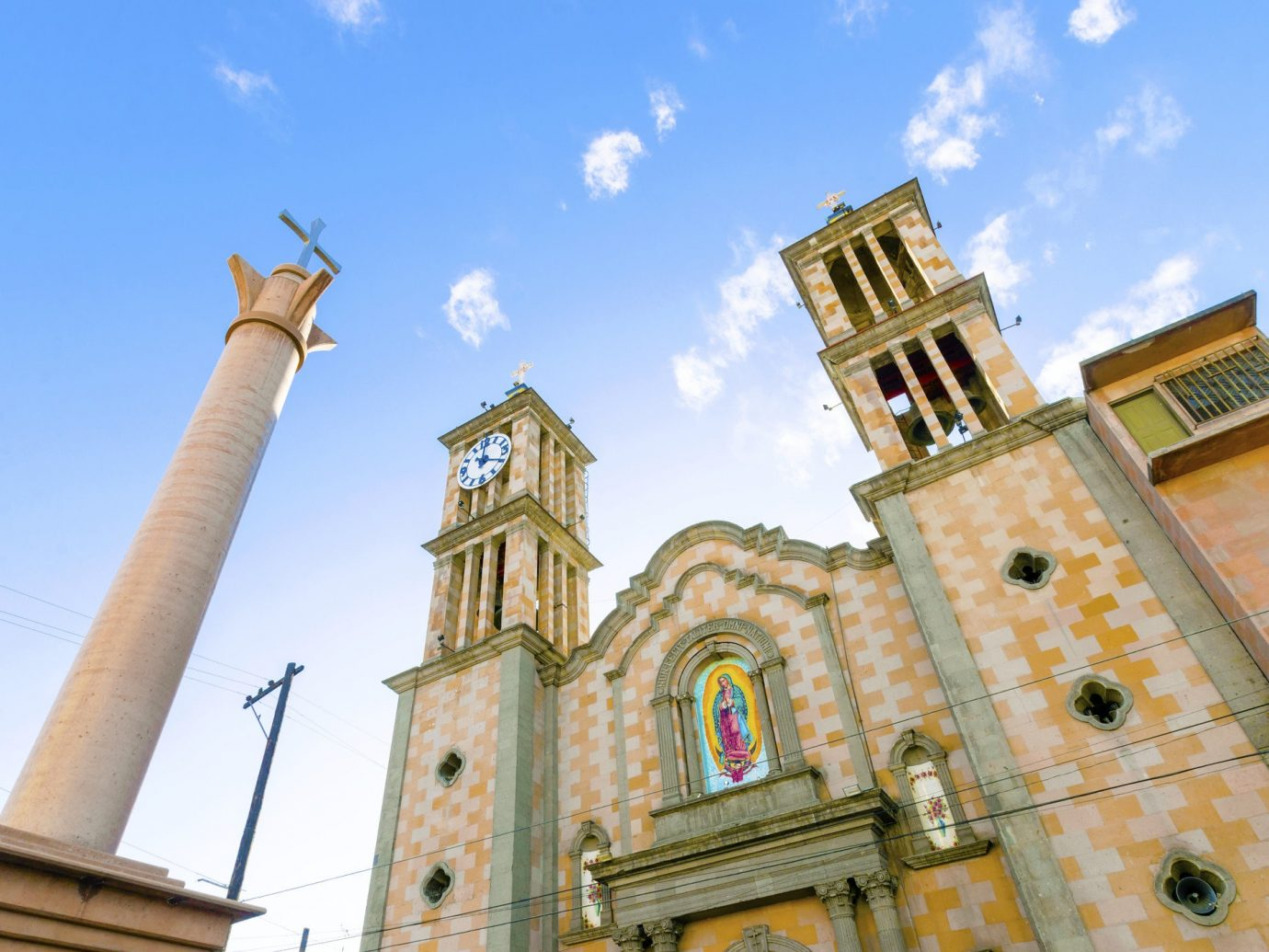 Trip Ideas sky building outdoor landmark Church place of worship tower cathedral City steeple facade basilica bell tower