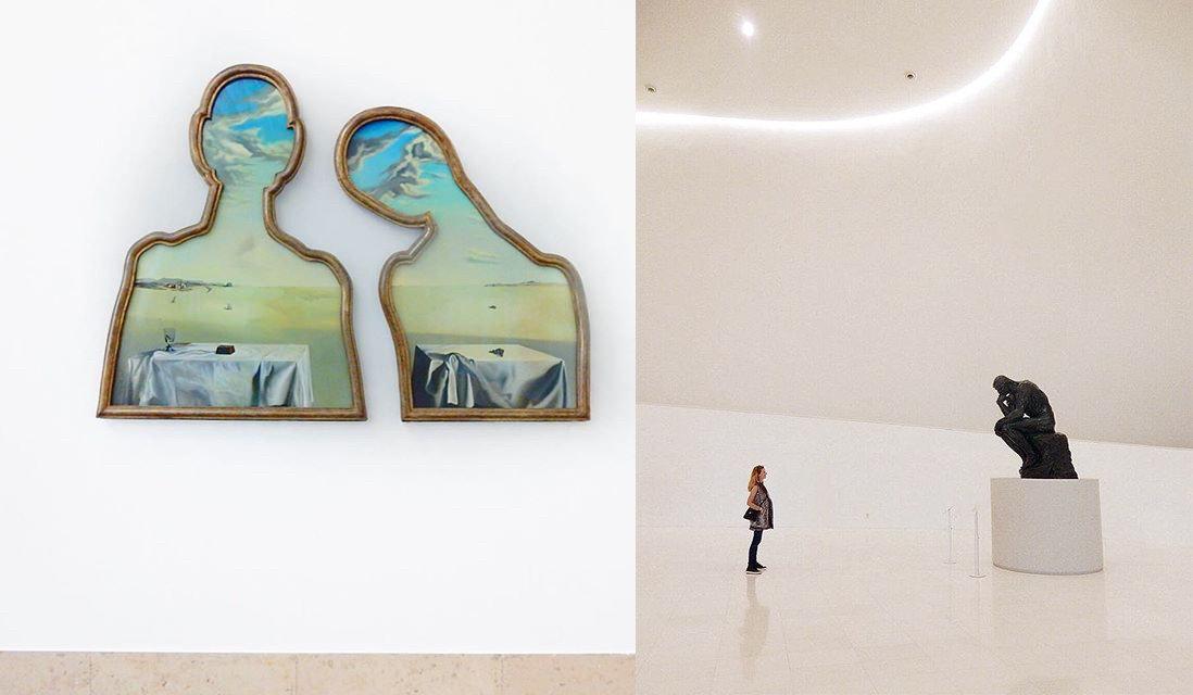 Arts + Culture wall art ceramic Design glass shelf modern art