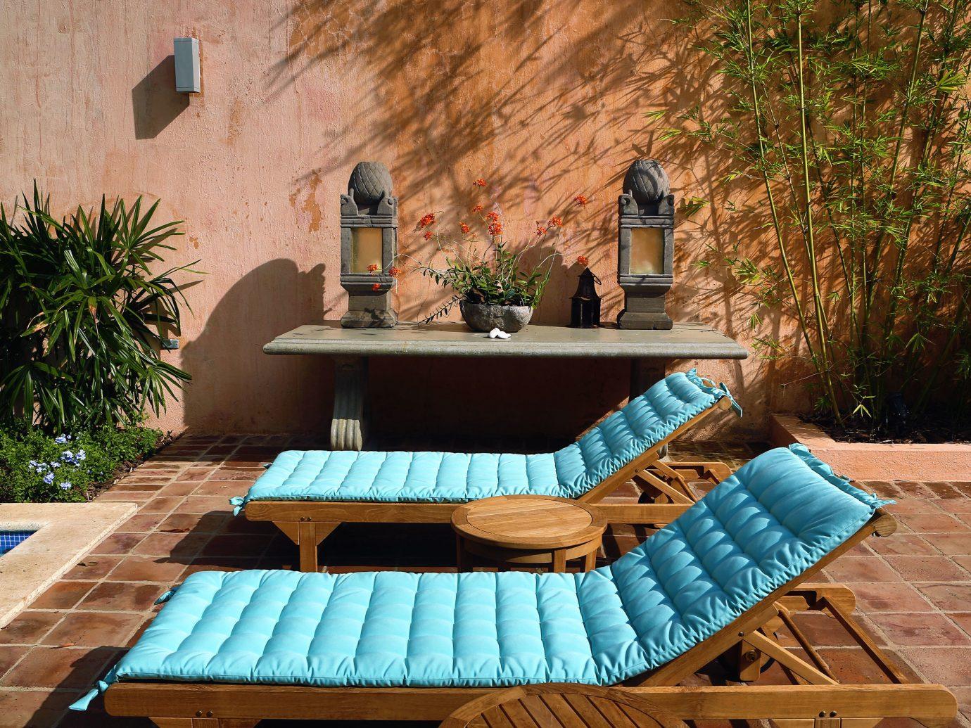 Lounge Chairs At Casas Del XVI - Dominican Republic Luxury Resort