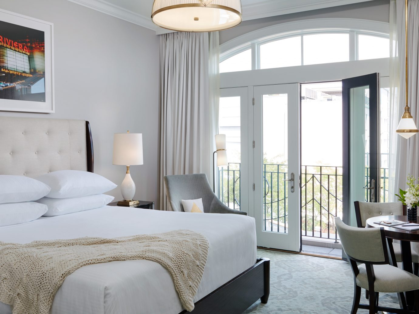 Bedroom Elegant Hotels Modern Romance Scenic views Suite Trip Ideas indoor sofa room window floor wall bed hotel chair property living room home furniture Living interior design ceiling estate hardwood window covering Design real estate farmhouse cottage dining room nice decorated several containing