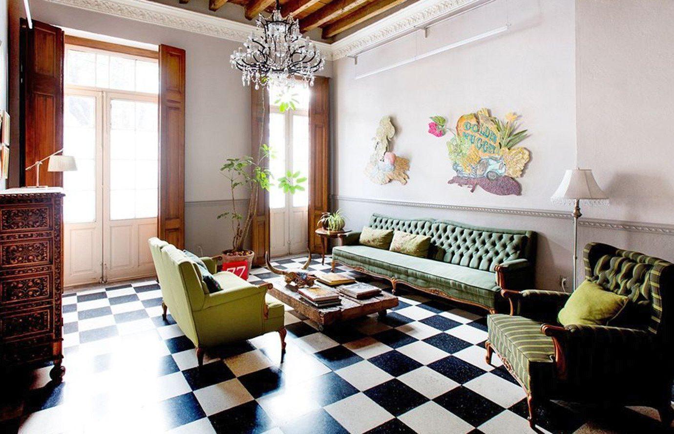 Budget indoor Living living room room floor property home estate interior design condominium real estate dining room cottage Design Suite apartment mansion Villa furniture