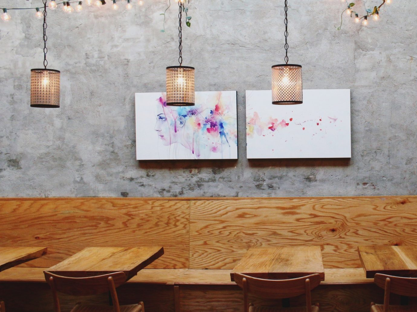 Food + Drink room wall wooden interior design Design