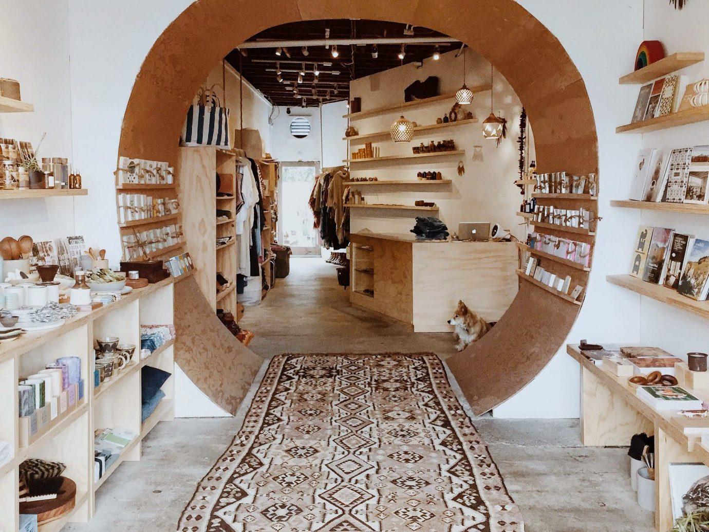 Travel Shop indoor interior design flooring furniture