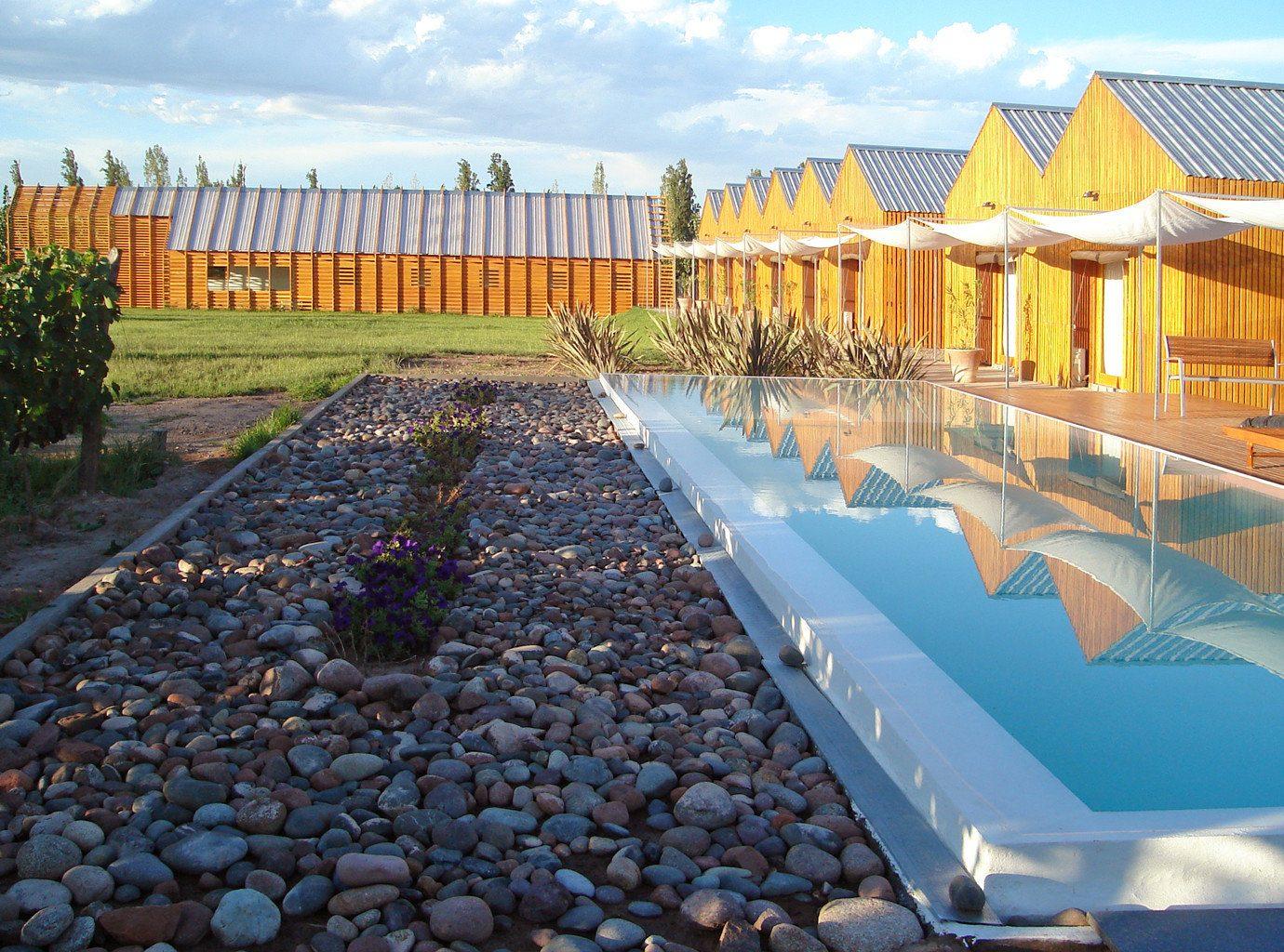 Architecture Buildings Country Design Play Pool Trip Ideas sky outdoor swimming pool walkway estate Resort backyard