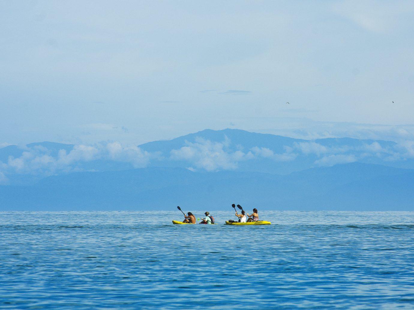 Kayaking at La Paloma Lodge in Costa Rica