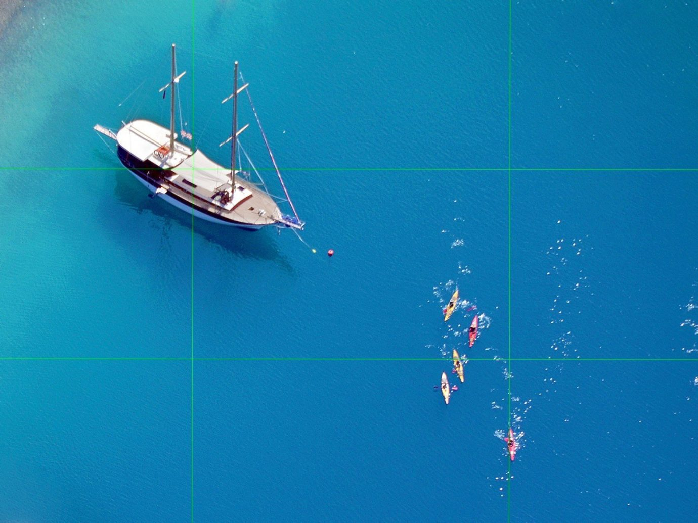 Travel Tips water blue Boat atmosphere of earth vehicle underwater screenshot Sea day