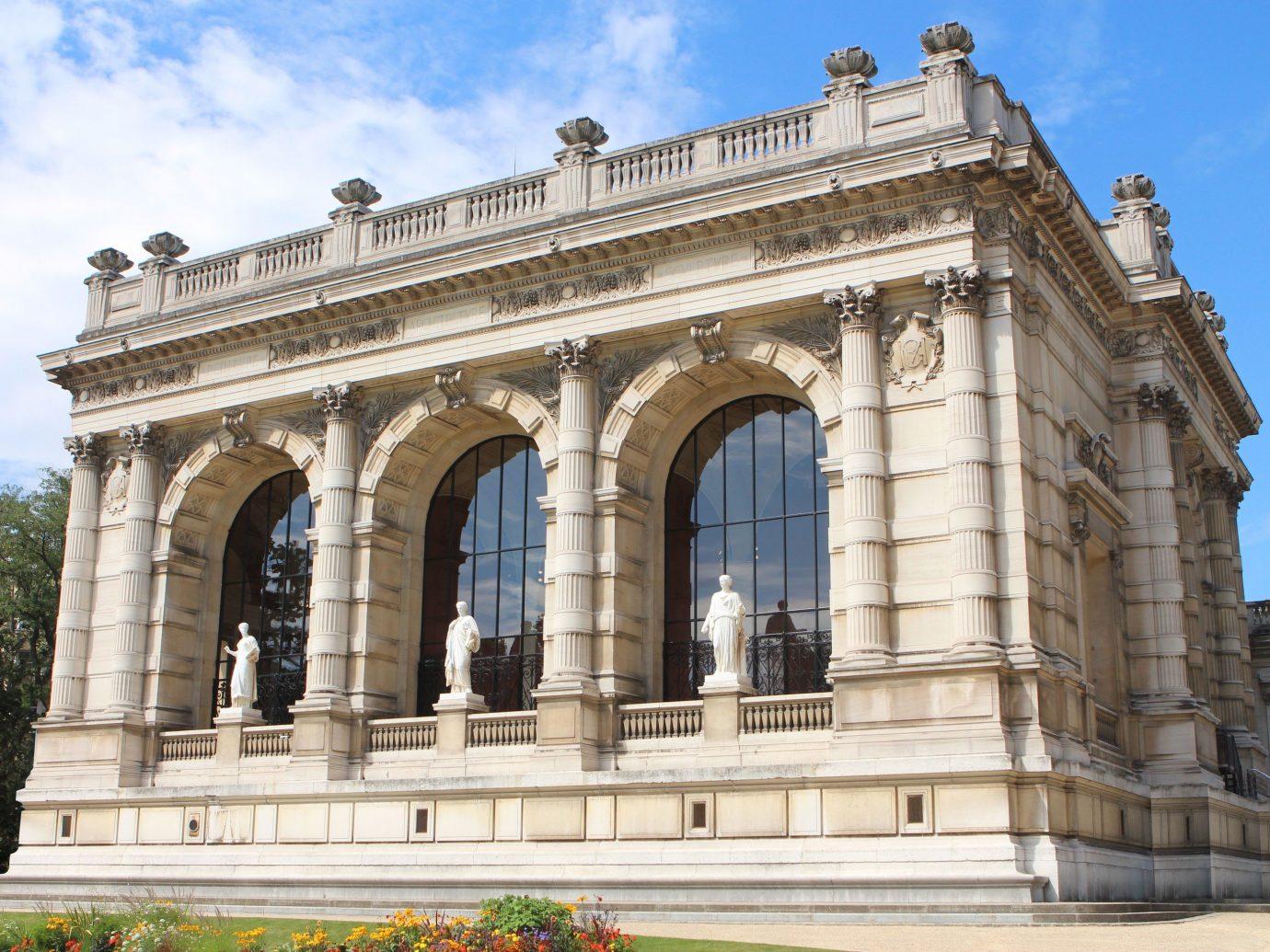 Exterior view of Palais Galliera in Paris