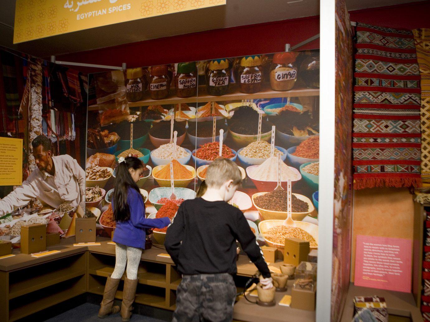 activities Arts + Culture Budget children Family activities fun interior learning Museums people indoor fair stall bakery bazaar store Shop