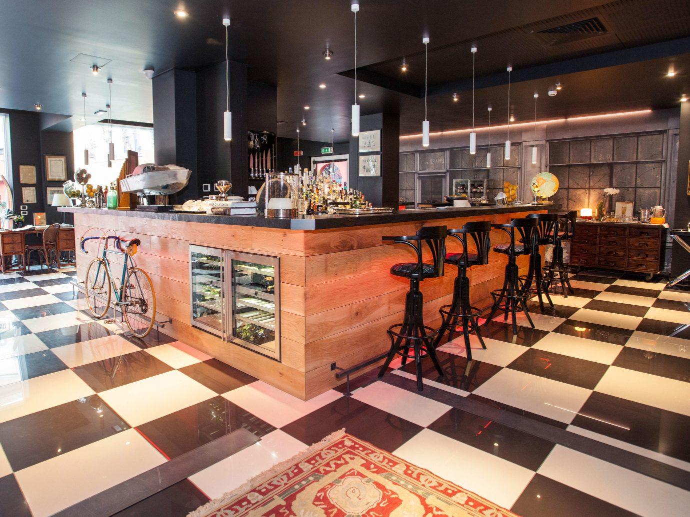 Hotels Italy Milan indoor floor interior design Design Boutique Lobby retail tourist attraction tiled