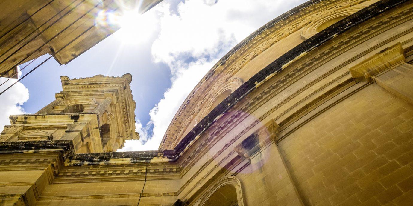 Trip Ideas sky structure landmark building Architecture urban area facade shape sunlight reflection temple place of worship arch
