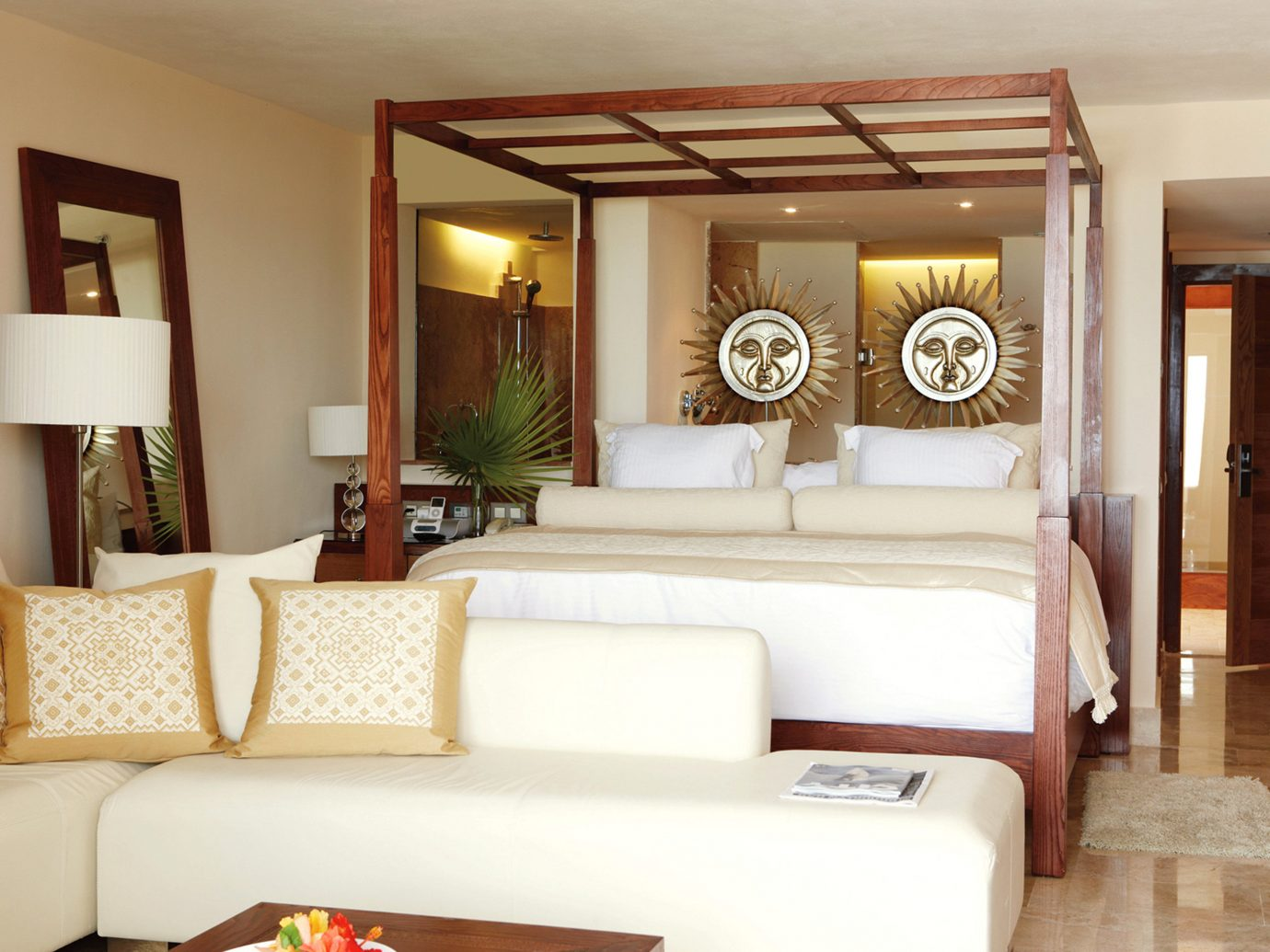 Bedroom at Excellence Playa Mujeres