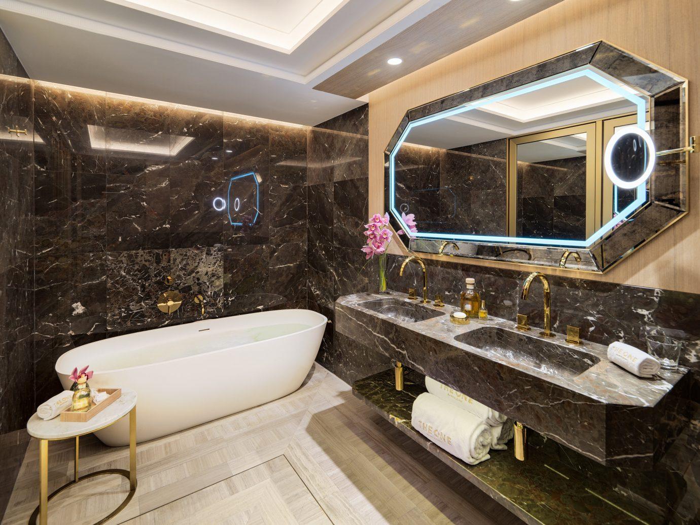 Barcelona Hotels Spain indoor room interior design bathroom estate window interior designer