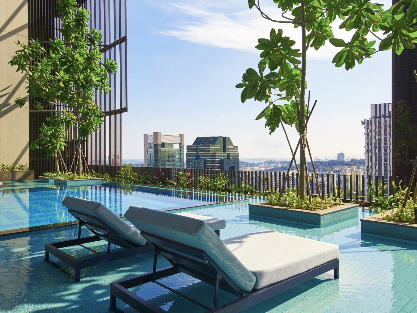 Hotels outdoor water condominium swimming pool leisure property Resort estate Villa vacation home real estate backyard mansion Courtyard Pool apartment plaza Deck several