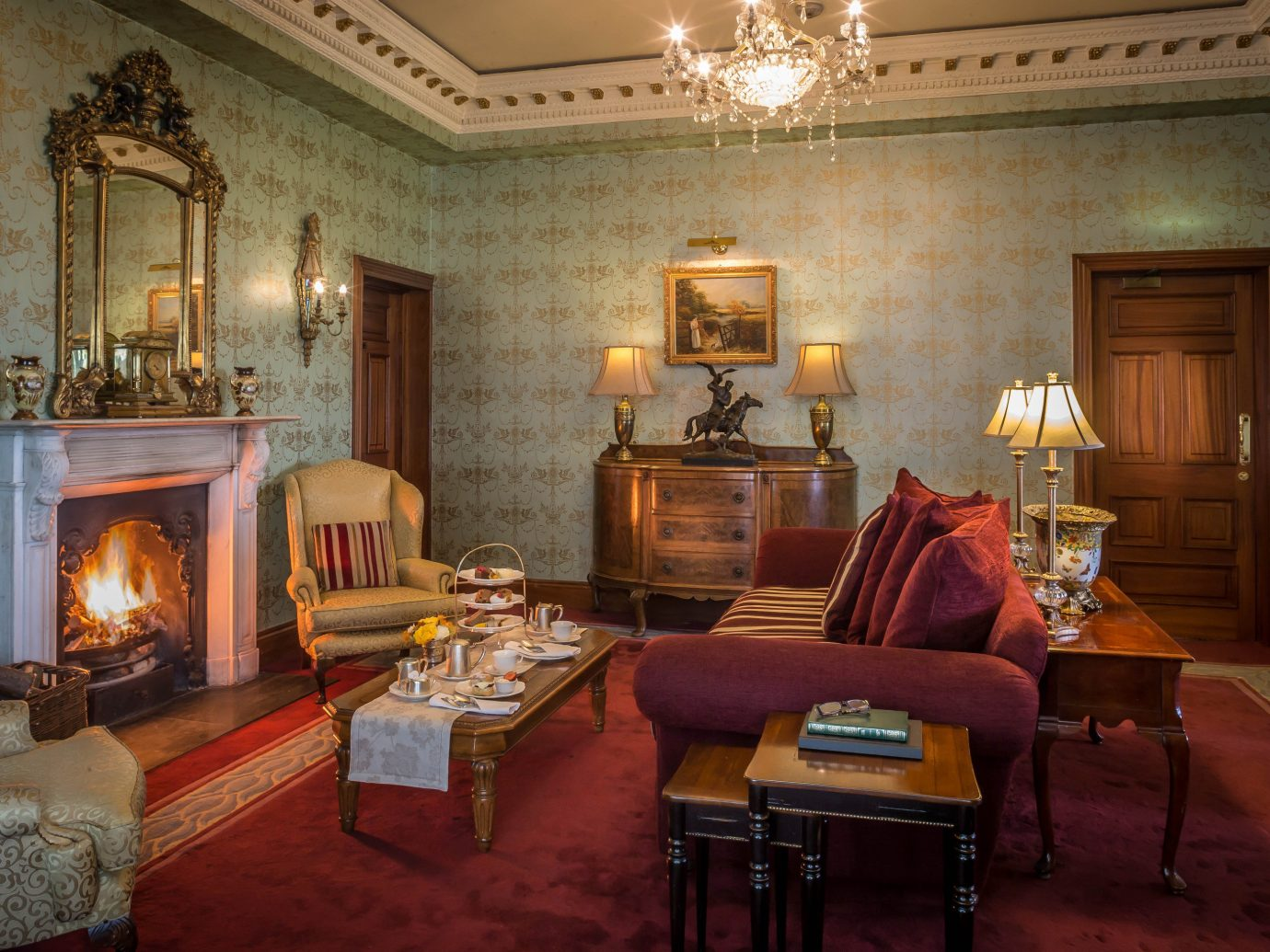 Dublin Ireland Trip Ideas indoor floor wall room Living living room Fireplace fire interior design ceiling home estate furniture Suite real estate hearth house area