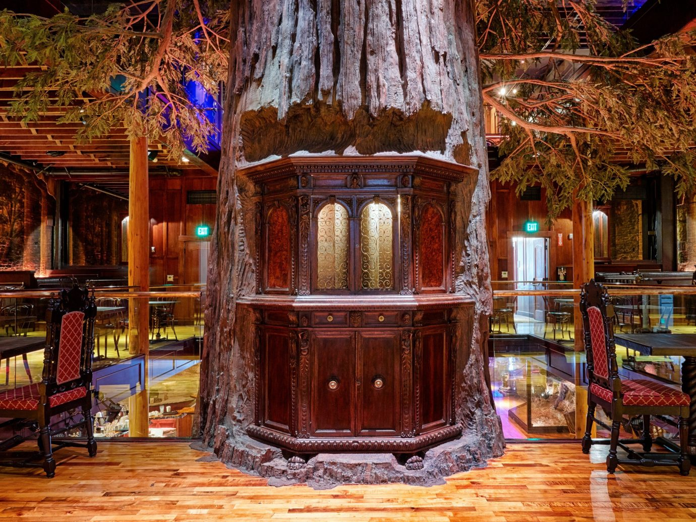 Arts + Culture house estate wood home lighting interior design Bar restaurant furniture altar