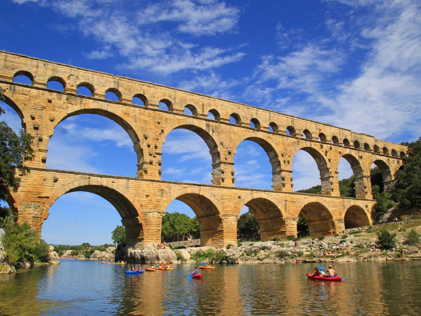 Trip Ideas sky outdoor bridge building water aqueduct arch bridge landmark River viaduct arch tourism waterway devil's bridge nonbuilding structure