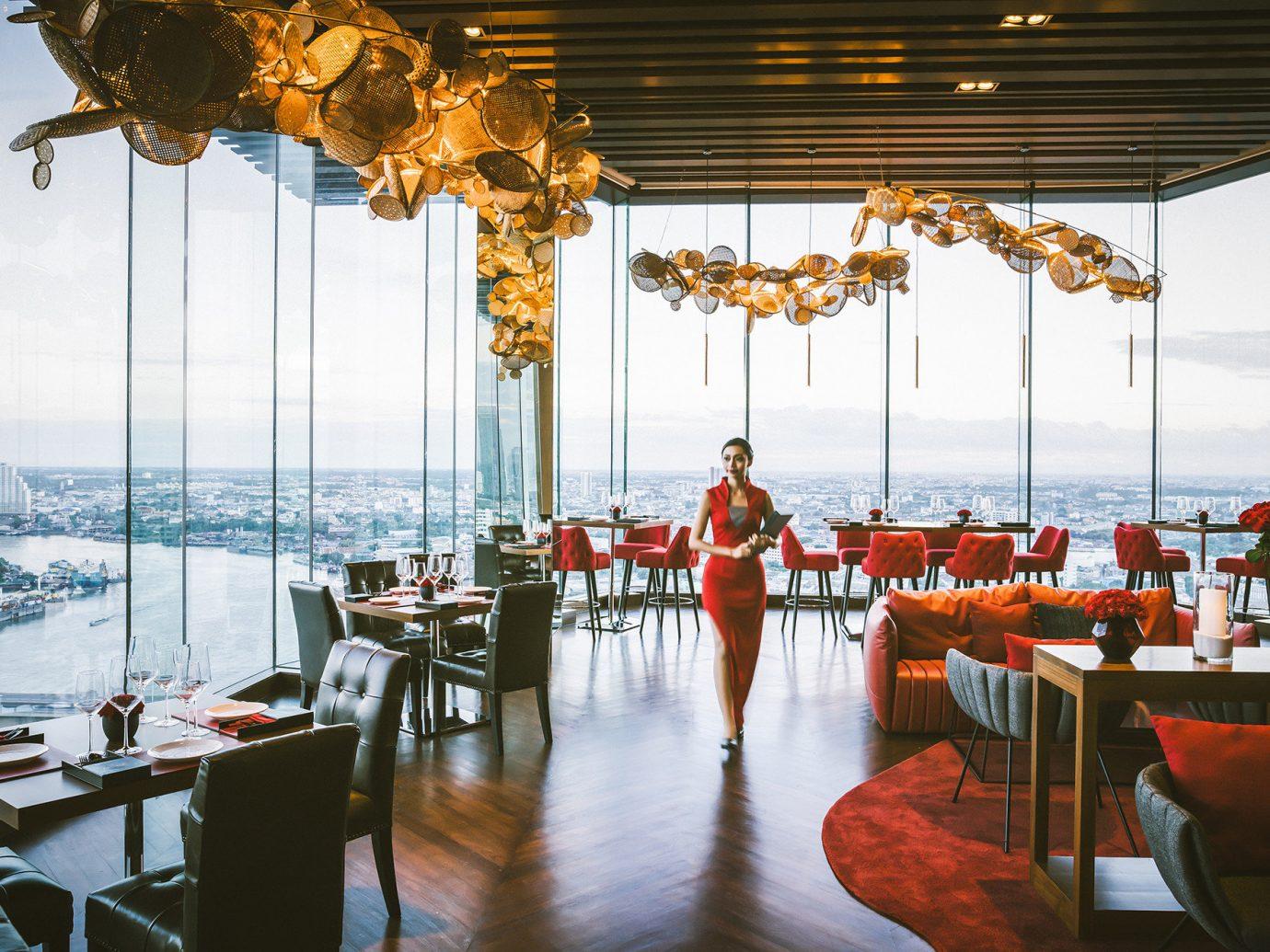 Hotels floor indoor restaurant meal Resort function hall interior design estate palace several