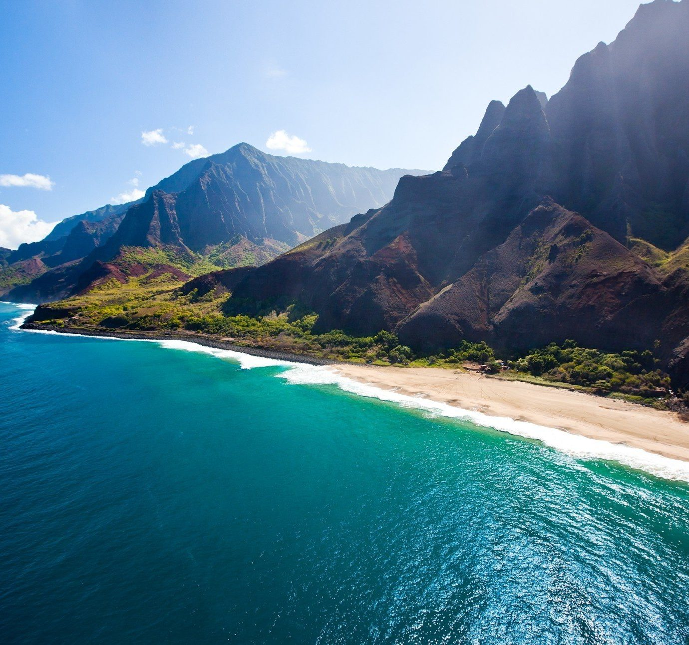 Trip Ideas mountain water outdoor Nature sky geographical feature landform Coast Sea body of water Ocean vacation bay Lake cliff fjord cape terrain Beach mountain range islet surrounded Island hillside