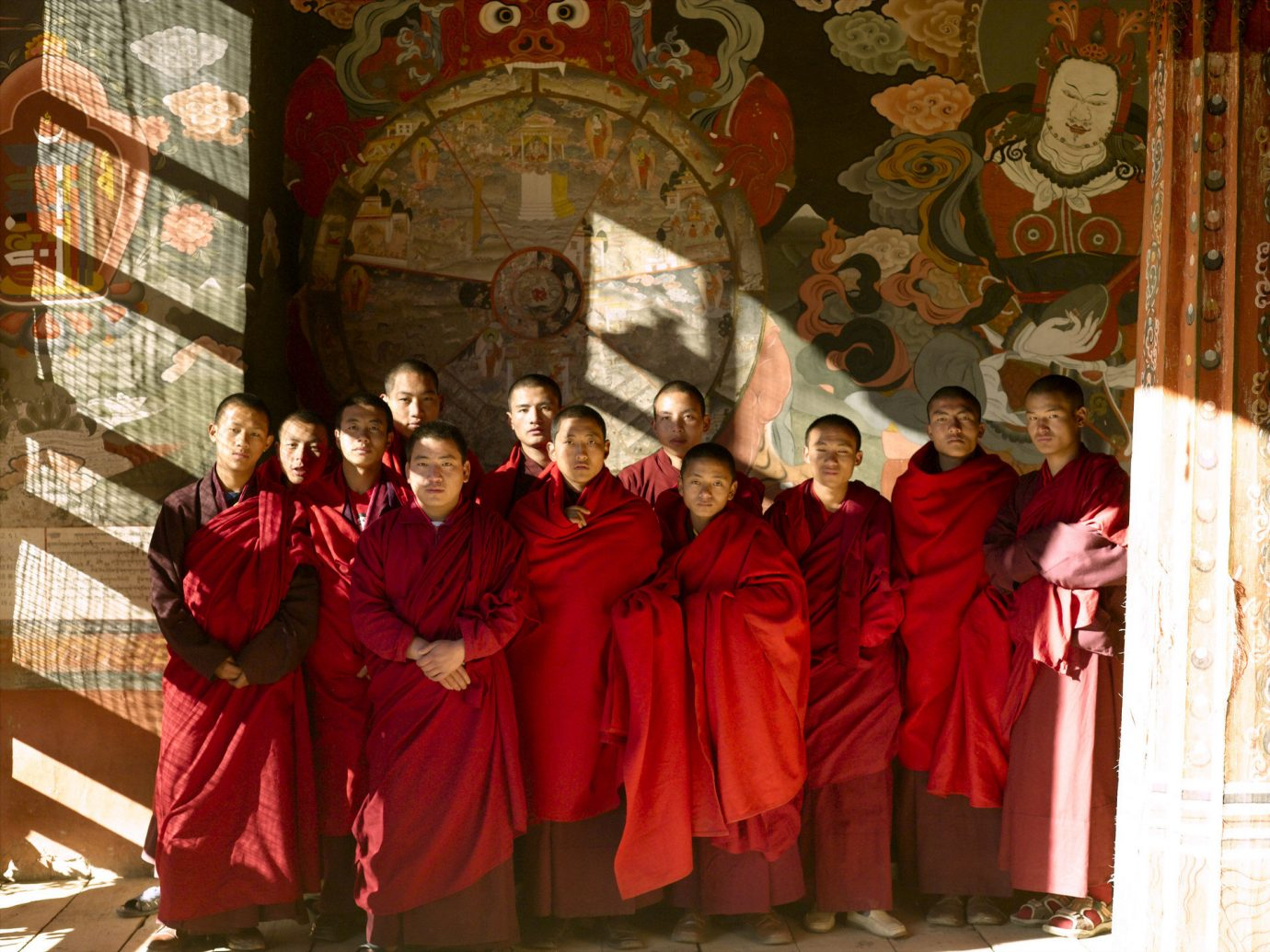 Travel Tips person musician woman red priesthood choir vestment posing group bishop musical ensemble profession temple dancer tradition