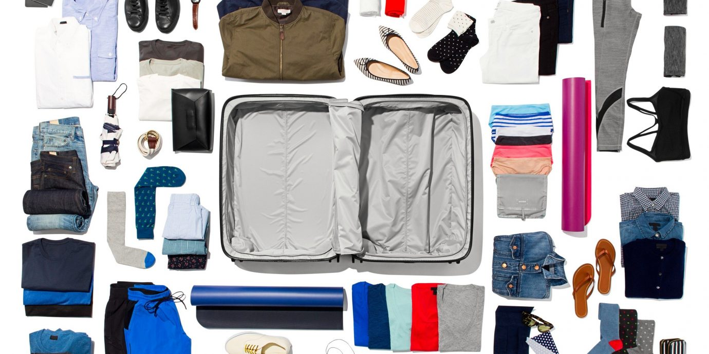 Travel Tips items different various bunch bag product brand backpack accessory electronic case thing several arranged variety