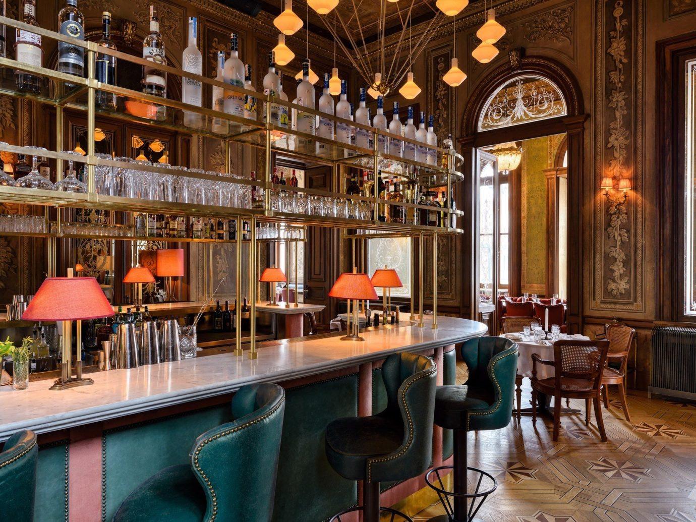 Hotels floor chair indoor property room estate Bar restaurant interior design palace several dining room