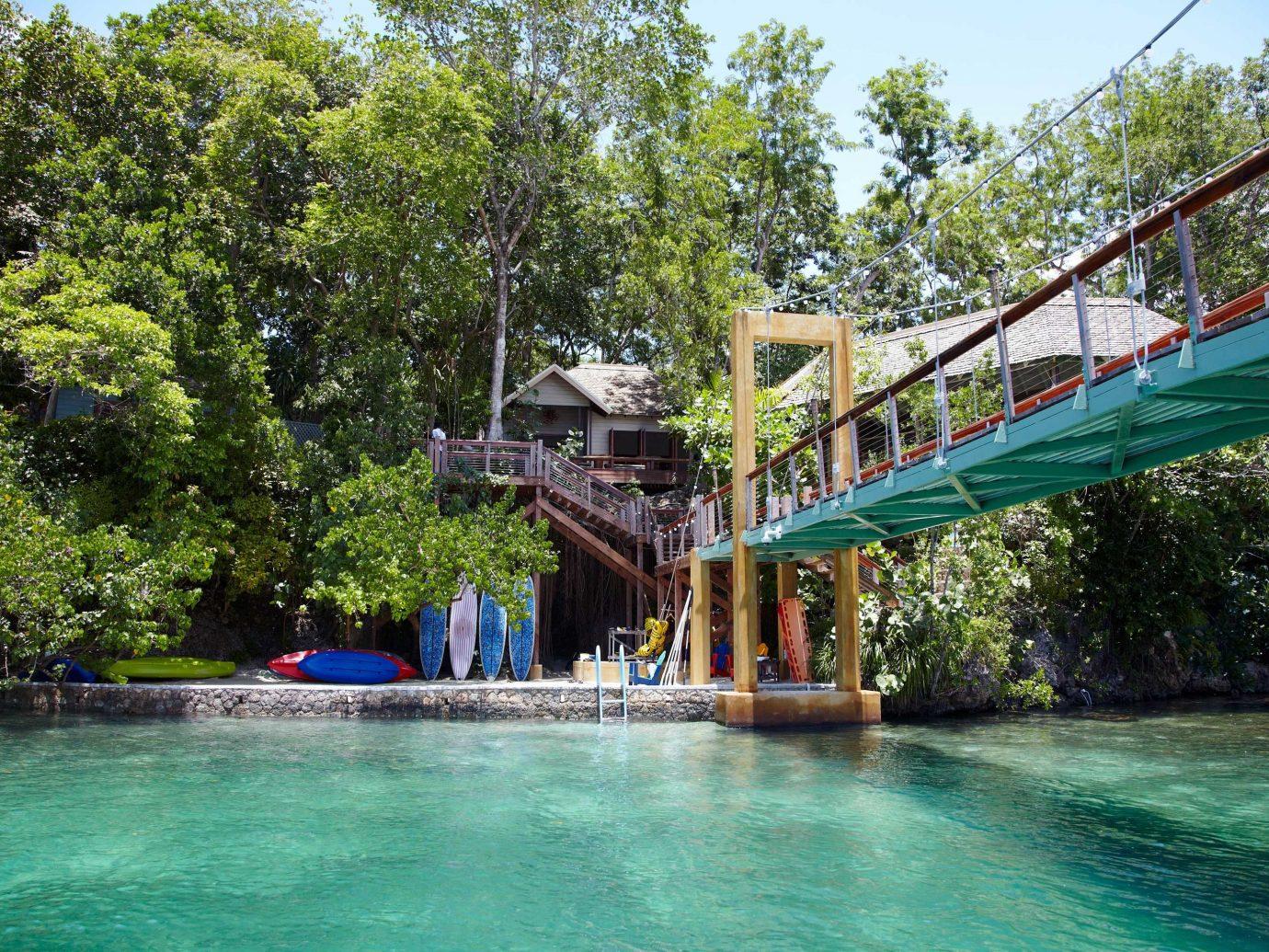 pool at GoldenEye, Jamaica