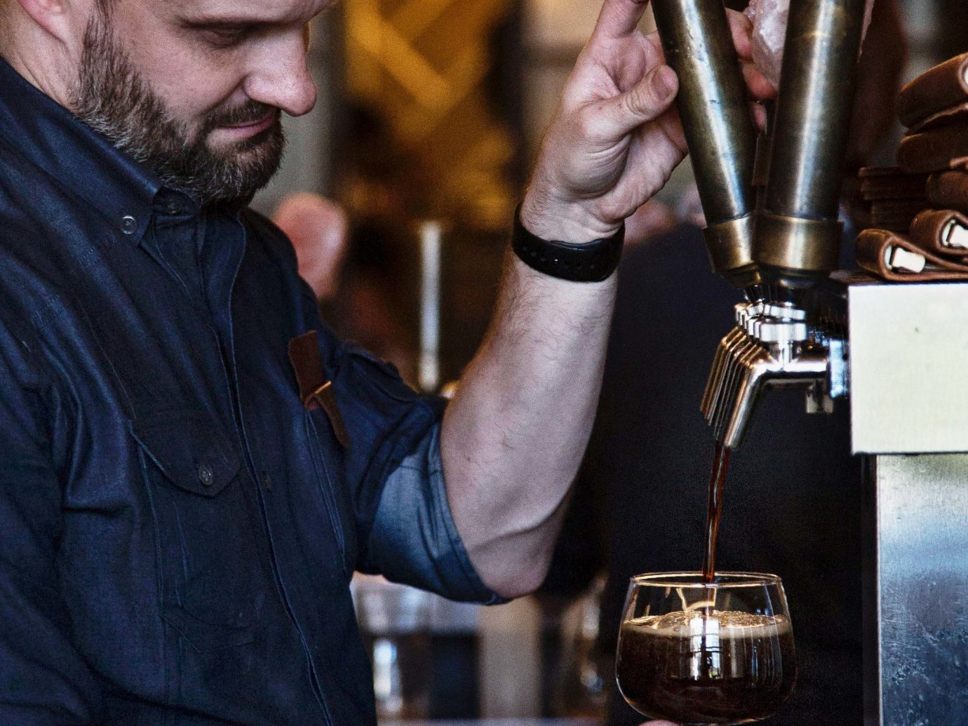 Trip Ideas Weekend Getaways person man indoor Drink profession machinist distilled beverage artisan