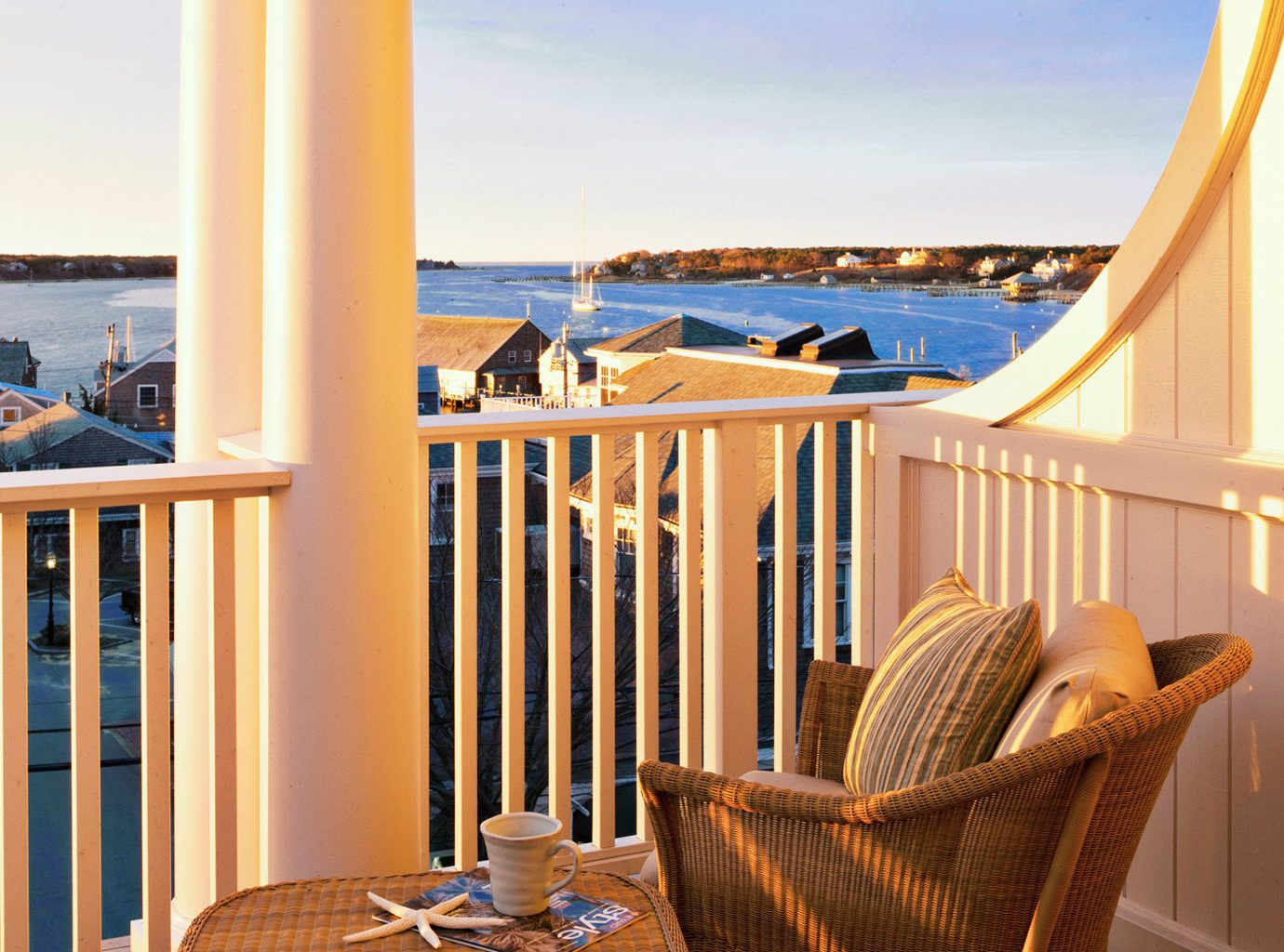 B&B Balcony Boutique Scenic views Trip Ideas Waterfront sky chair outdoor property room vacation home Resort estate Ocean house Villa overlooking cottage condominium interior design real estate apartment Suite living room Deck furniture