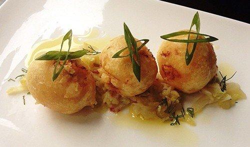 Food + Drink plate food dish cuisine fish produce Seafood meal arranged piece de resistance