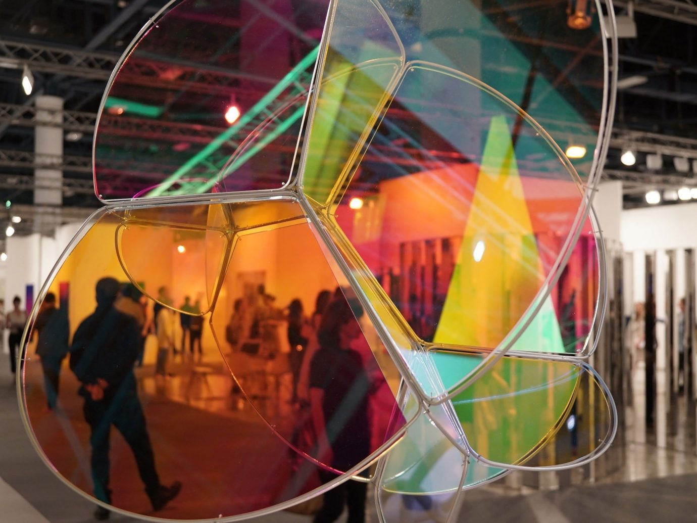 Arts + Culture color indoor tourist attraction vehicle glass exhibition colorful