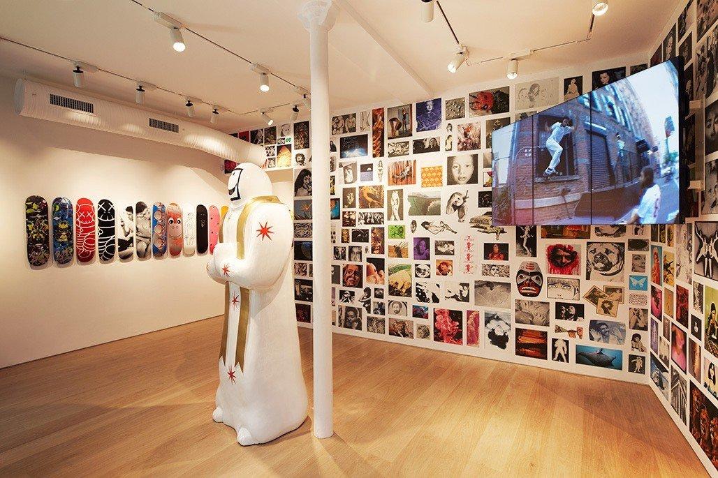 Trip Ideas indoor floor ceiling scene retail art room interior design Design shoe store tourist attraction Boutique wood