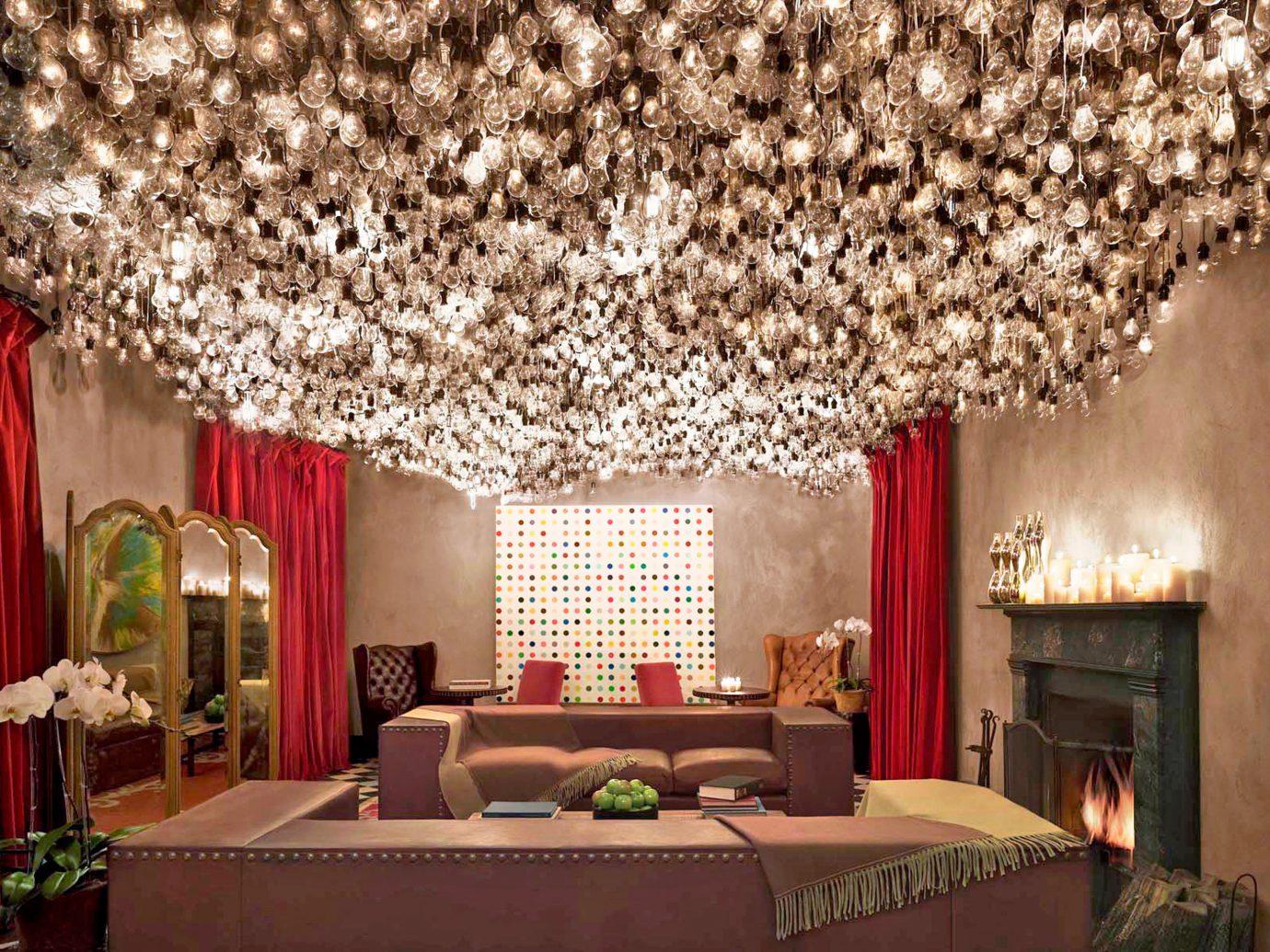 City Design Hotels Lounge Luxury Luxury Travel Romance Romantic Hotels indoor room interior design living room lighting ceiling estate decorated furniture