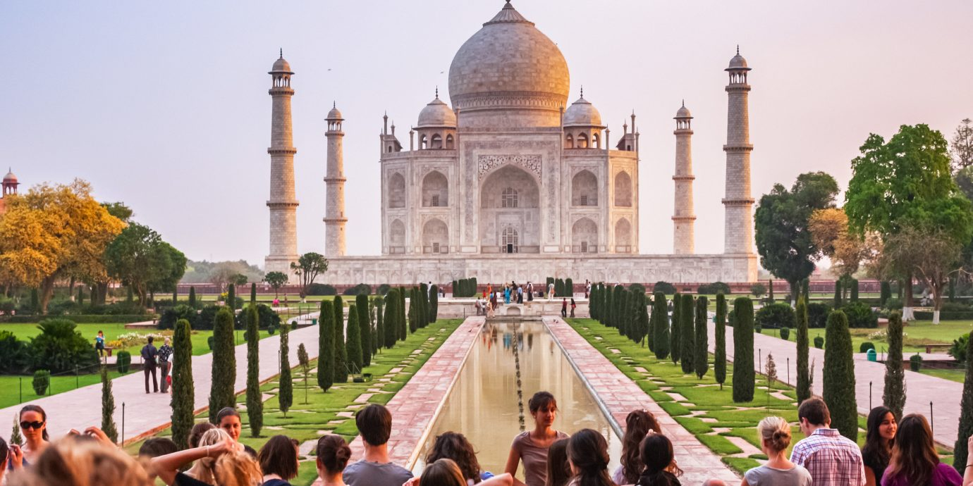 Trip Ideas outdoor person building people landmark group plaza place of worship Church temple crowd mosque several