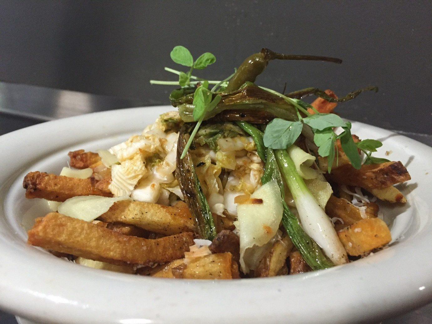 Food + Drink plate food dish indoor cuisine vegetarian food Seafood meat meal containing piece de resistance