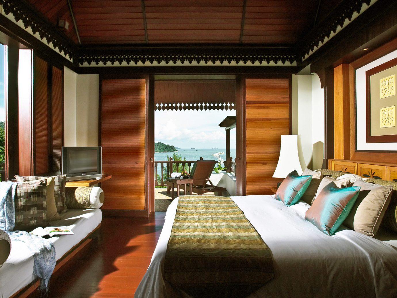 Bedroom at Pangkor Laut Resort, Pangkor, Malaysia