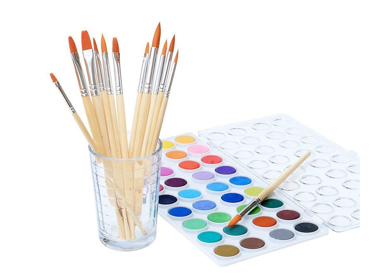 Style + Design Travel Shop brush material product
