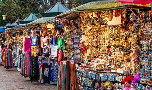 Style + Design market marketplace bazaar public space City outdoor human settlement vendor colorful booth flea market retail shopping store stall produce colored Shop