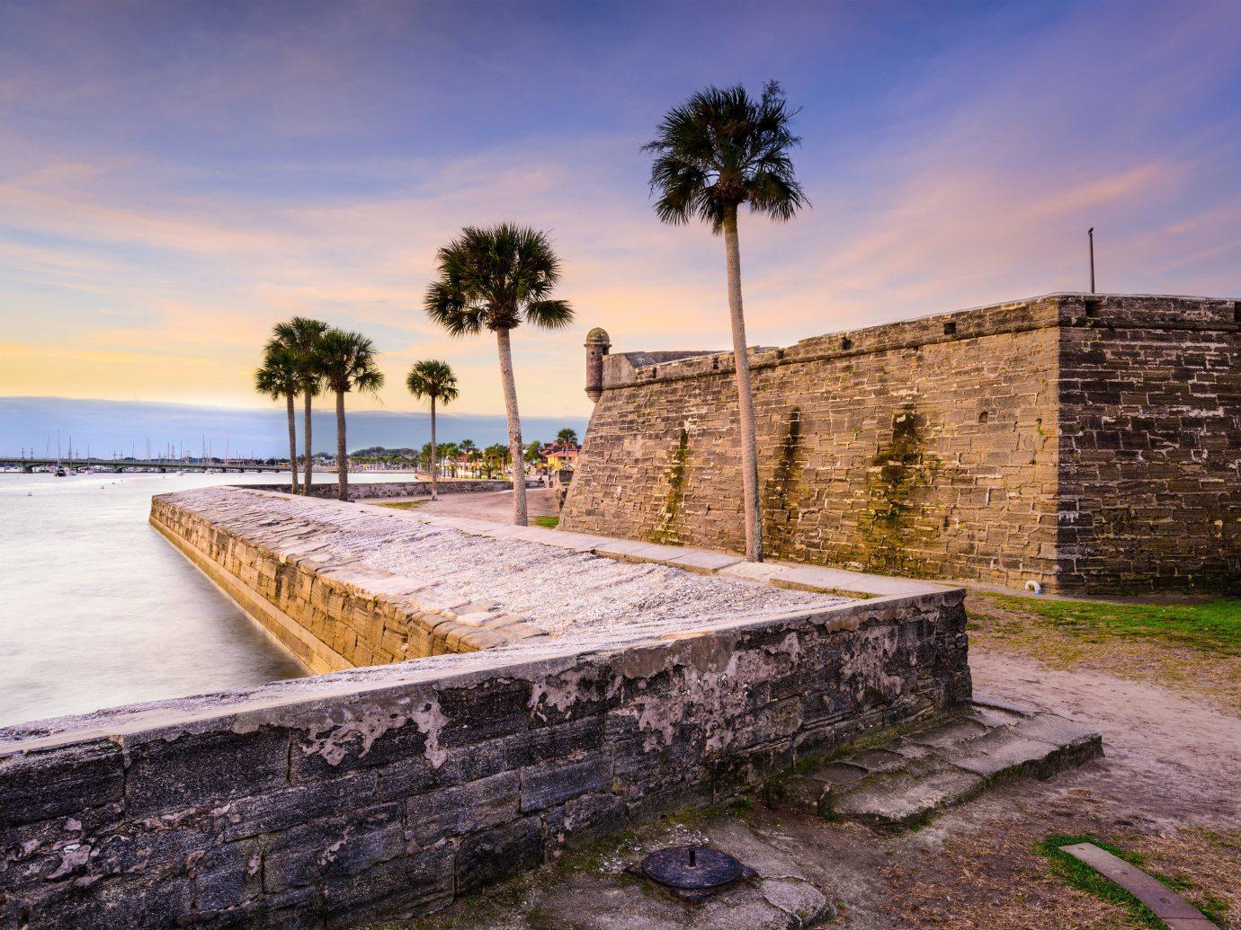 Trip Ideas sky outdoor ground vacation Sea Ruins estate walkway concrete Coast landscape stone cement