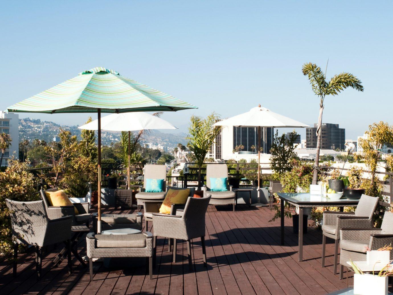 Offbeat chair estate Resort restaurant backyard outdoor structure Villa furniture set area several