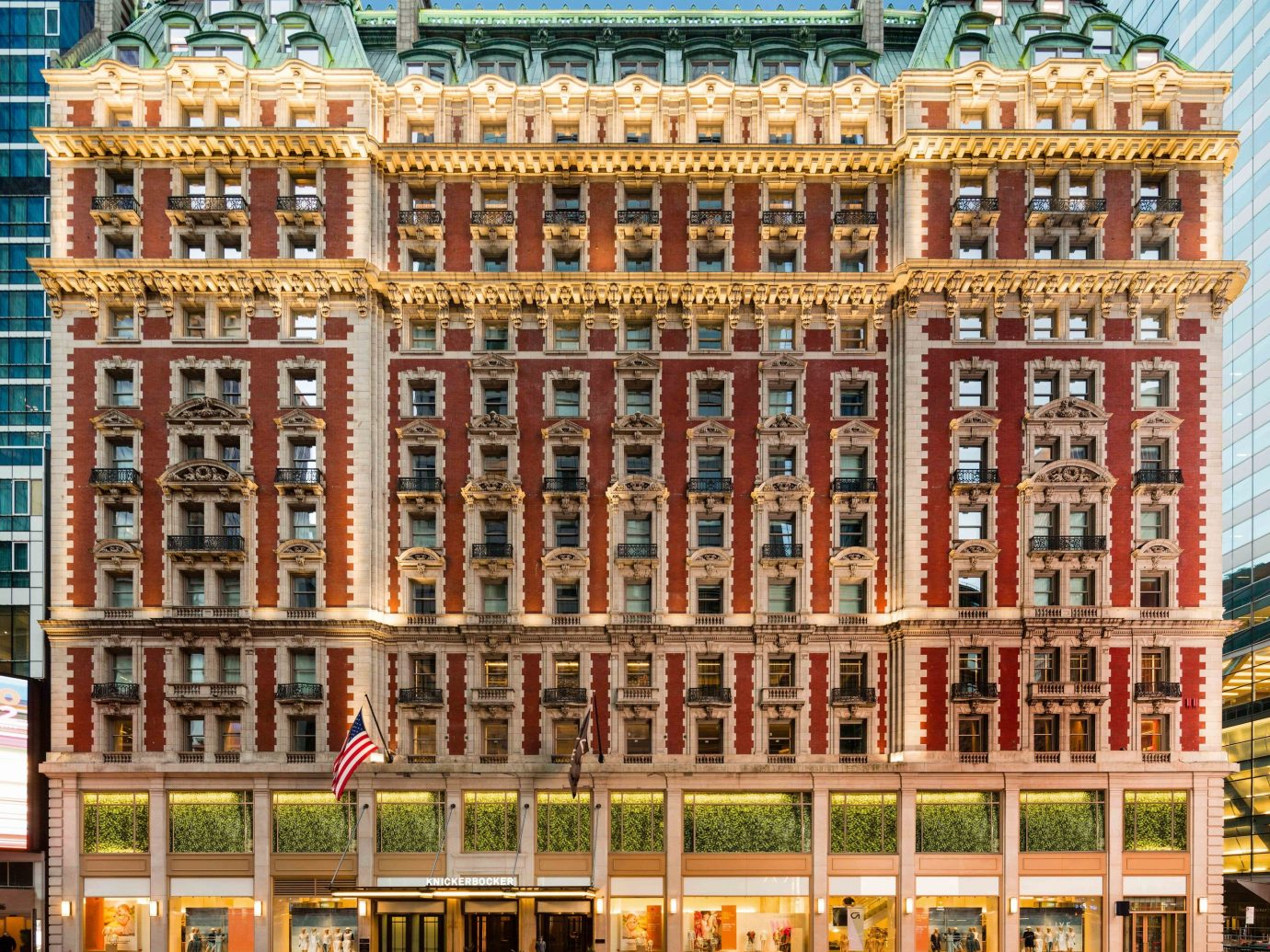 Boutique Hotels Food + Drink Hotels landmark building facade classical architecture metropolis City window plaza palace