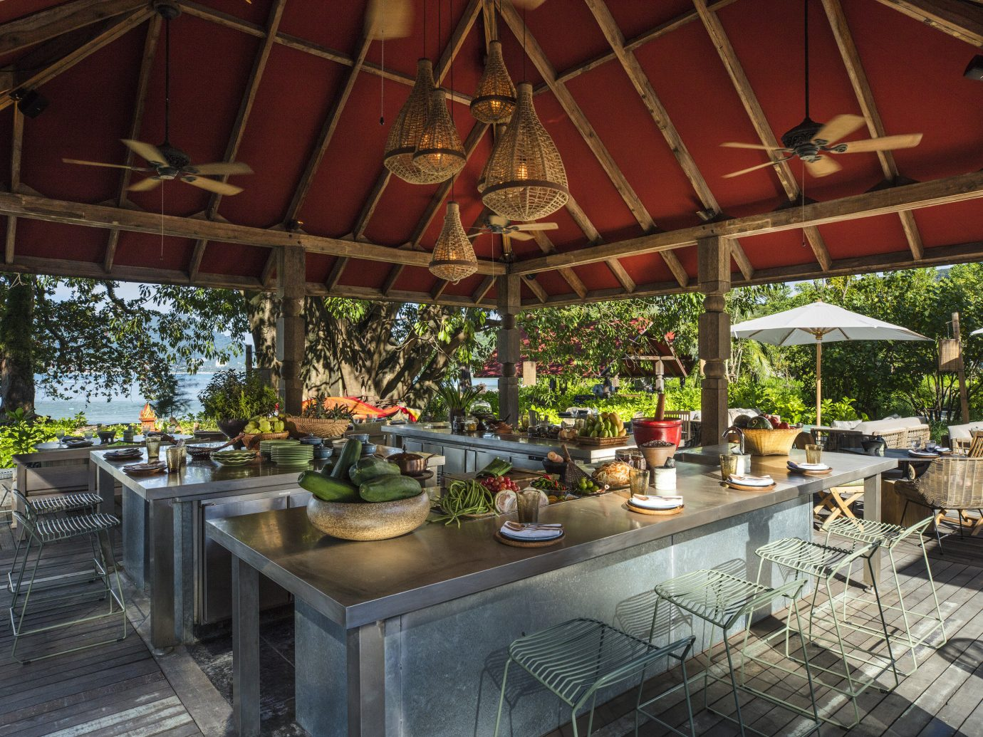 building real estate outdoor structure Patio Resort roof estate