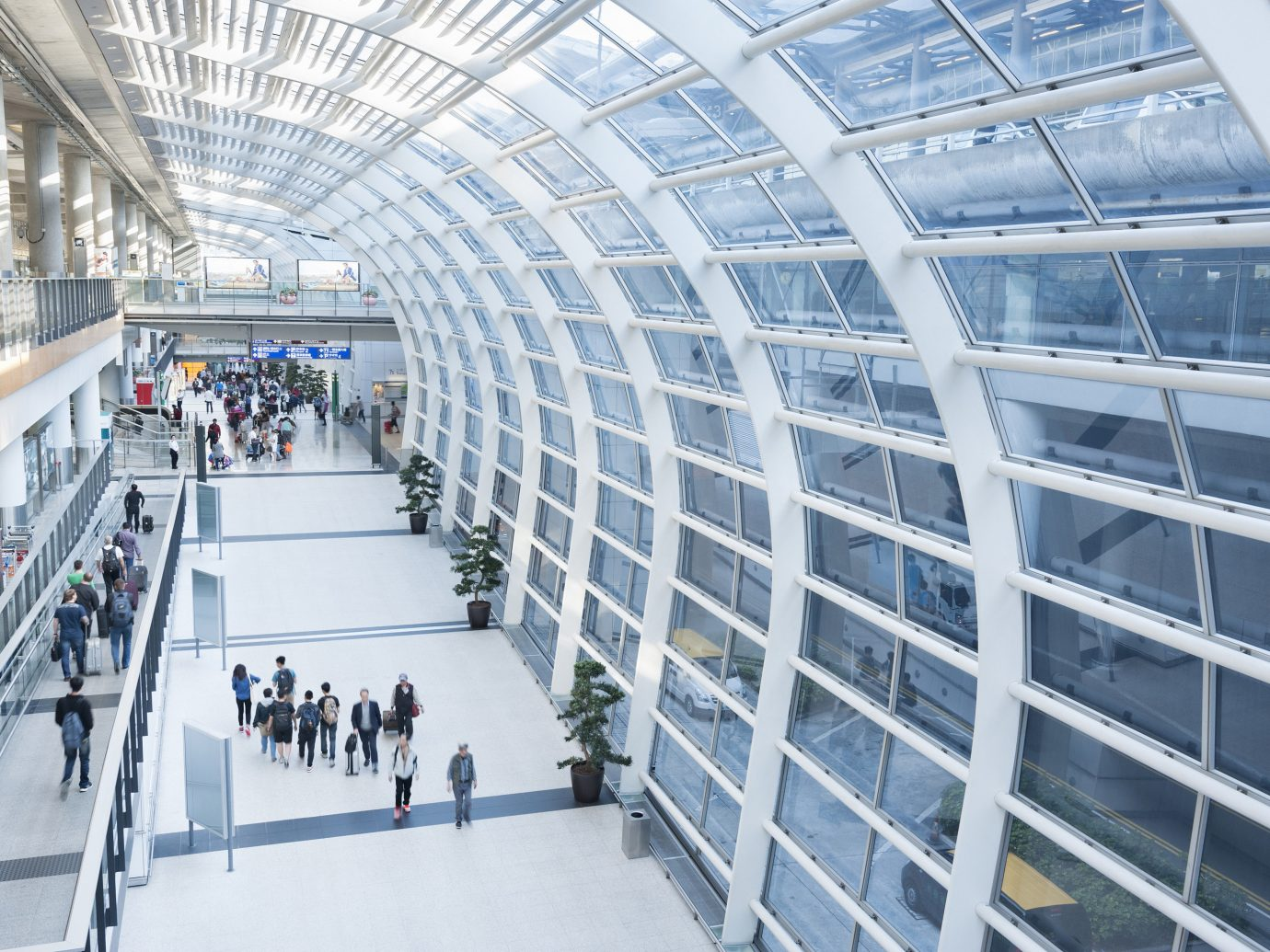 Travel Tips building Architecture airport terminal headquarters manufacturing plaza