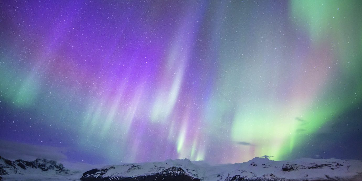 Offbeat Travel Tips Trip Ideas aurora phenomenon atmosphere Nature Night Sky